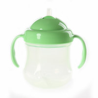 Pigeon Mag Mag Bpa Free Straw Cup Step-3 Green
