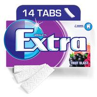 Wrigley's Extra Gum Fruit Blast, Envelope, 14 tabs