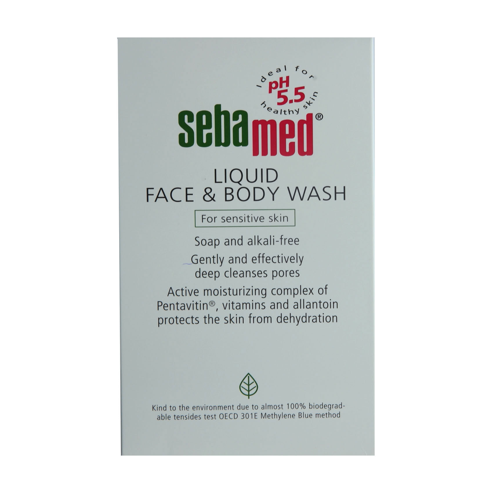 SEBAMED FACE&BODY WASH 500ML