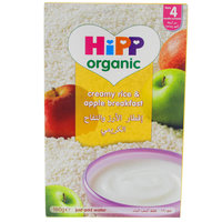 Hipp Organic Creamy Rice & Apple Breakfast 160g