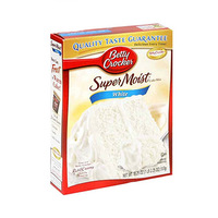 Betty Croker Super Moist Cake White 500GR