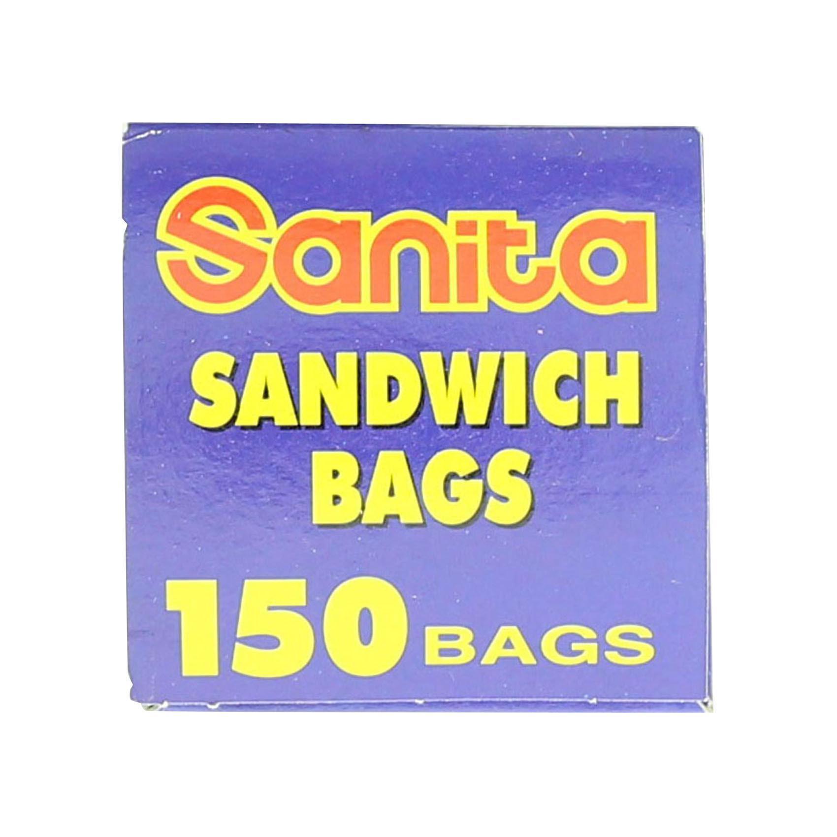 SANITA SANDWICH BAGS X 150'S