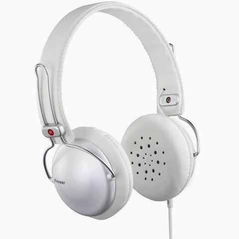 Pioneer-Headphone-SE-MJ151-W-White