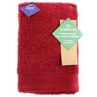 TEX Hand Towel x2 30x50 Dark Red