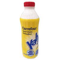 Carrefour Drinking Yoghurt Vanilla 850g