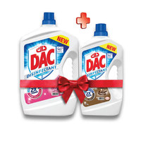 Dac Disinfectant Cleaner Assorted 3 L + 1.5 L