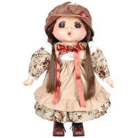 "Lotus-Gege Soft-Bodied Original Brunette Girl Doll 15"" Brown"