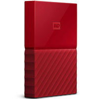 WD Hard Disk 1TB My Passport Red Worldwide