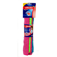 Vileda Style Microfiber Cloth / All Purpose Multi Color Cleaning Cloth 4 Pieces