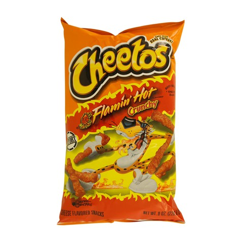 Cheetos-Flamin'-Hot-Crunchy-Cheese-Flavored-Snacks-226.8g