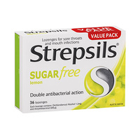 Strepsils Lemon Sugar Free 36LZ