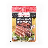 الكبير نقانق لحم بقري مجمد 454 جرام 12 قطع