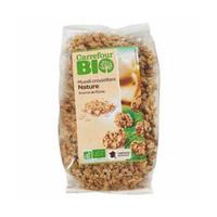 Carrefour Bio Organic Crunchy Muesli Natural 500GR
