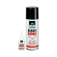 Bison Professional Bond 200ML Spray + 50ML Super Glue