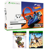 Microsoft Xbox One S 500GB Forza 3 Hot wheel Pack+Rare Replay+Recore Games