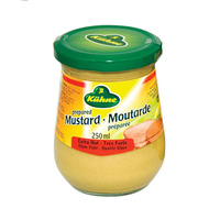 Kuhne Mustard Hot Dijon 250ML