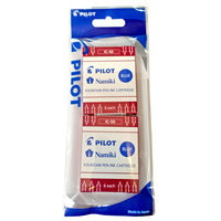Pilot Fountain Pen Ink Cartridges -Blue (2 Pack)