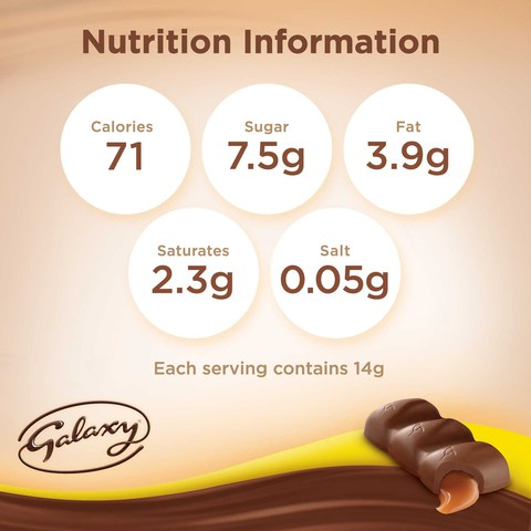 Galaxy®-Minis-Caramel-Chocolate-Mini-Bars-Pouch-280g-(20-pcs)