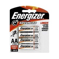 Energizer Advanced Type AA Alkaline Battery X4