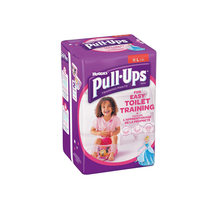 Huggies Pull Ups Girl 5 Years Large 16-23 Kg 12 Pieces