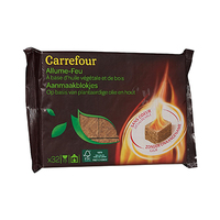 Carrefour Fire Lighter Wood 32 Pieces
