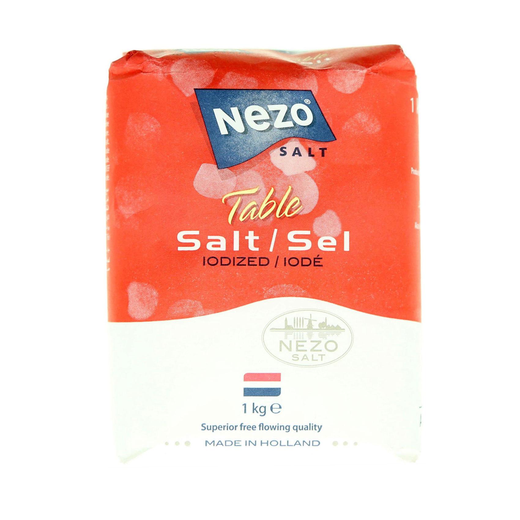 NEZO SALT IODIZED RED 1KG