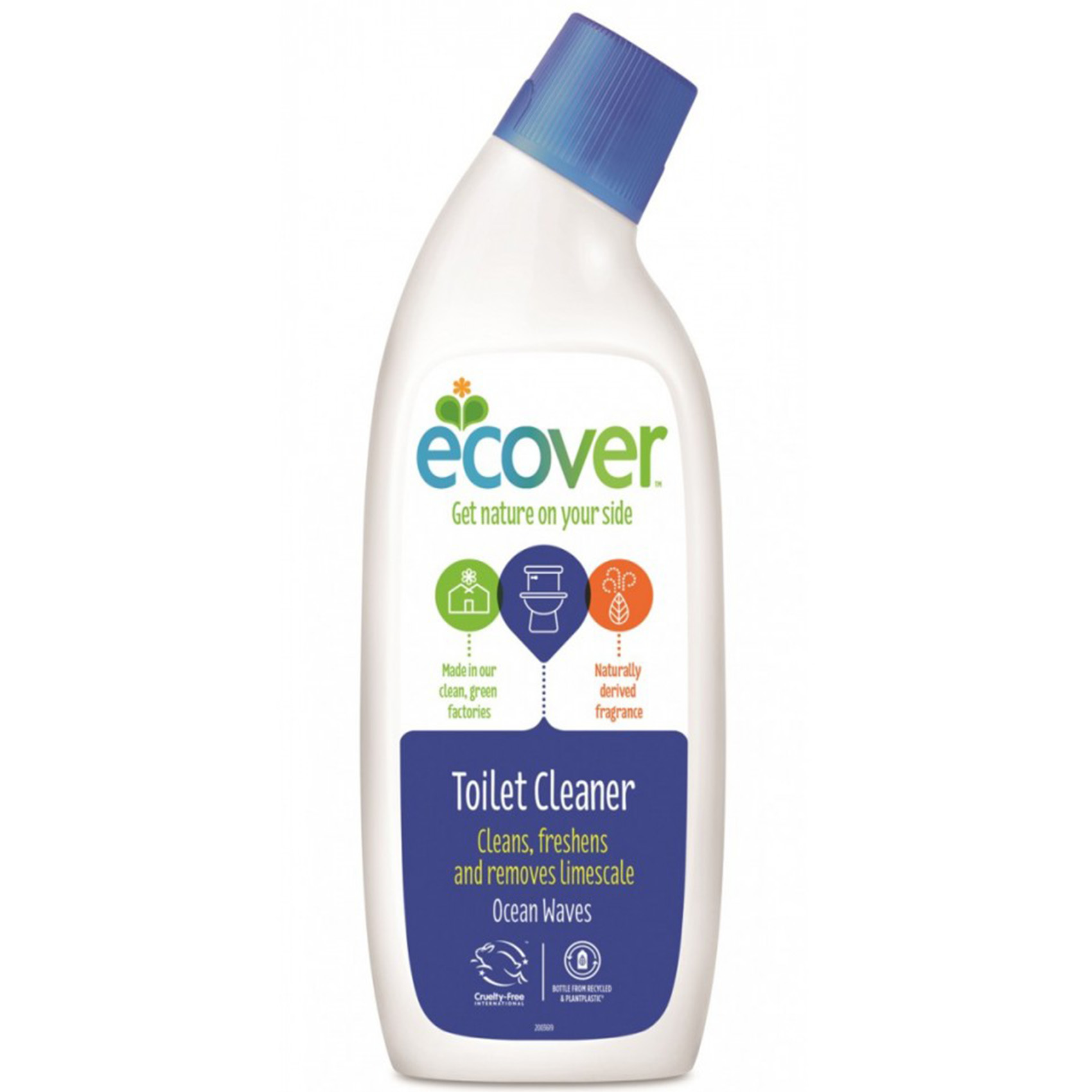 ECOVER TOILET CLEANER OCEAN 0.75L