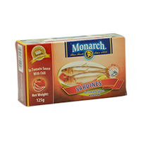 Monarch Sardines With Tomato Sauce In Oil 200GR