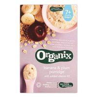 Organix Bann & Plum Porridge 200g