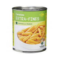 Carrefour Carrots Extra Fine 800GR
