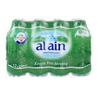 Al Ain Bottled Drinking Water 330mlx12