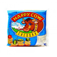 Happy Cow Slice Cheddar Cheese 200g