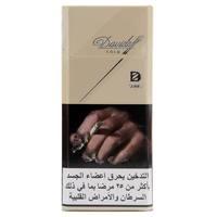 Davidoff Slim Gold Cigarettes 20's