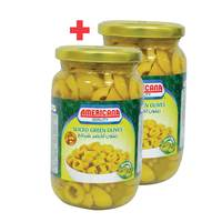 BUY 1 + 1 FREE Americana Sliced Green Olive 335g
