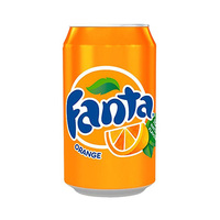 Fanta Soft Drink Can Orange 330ML