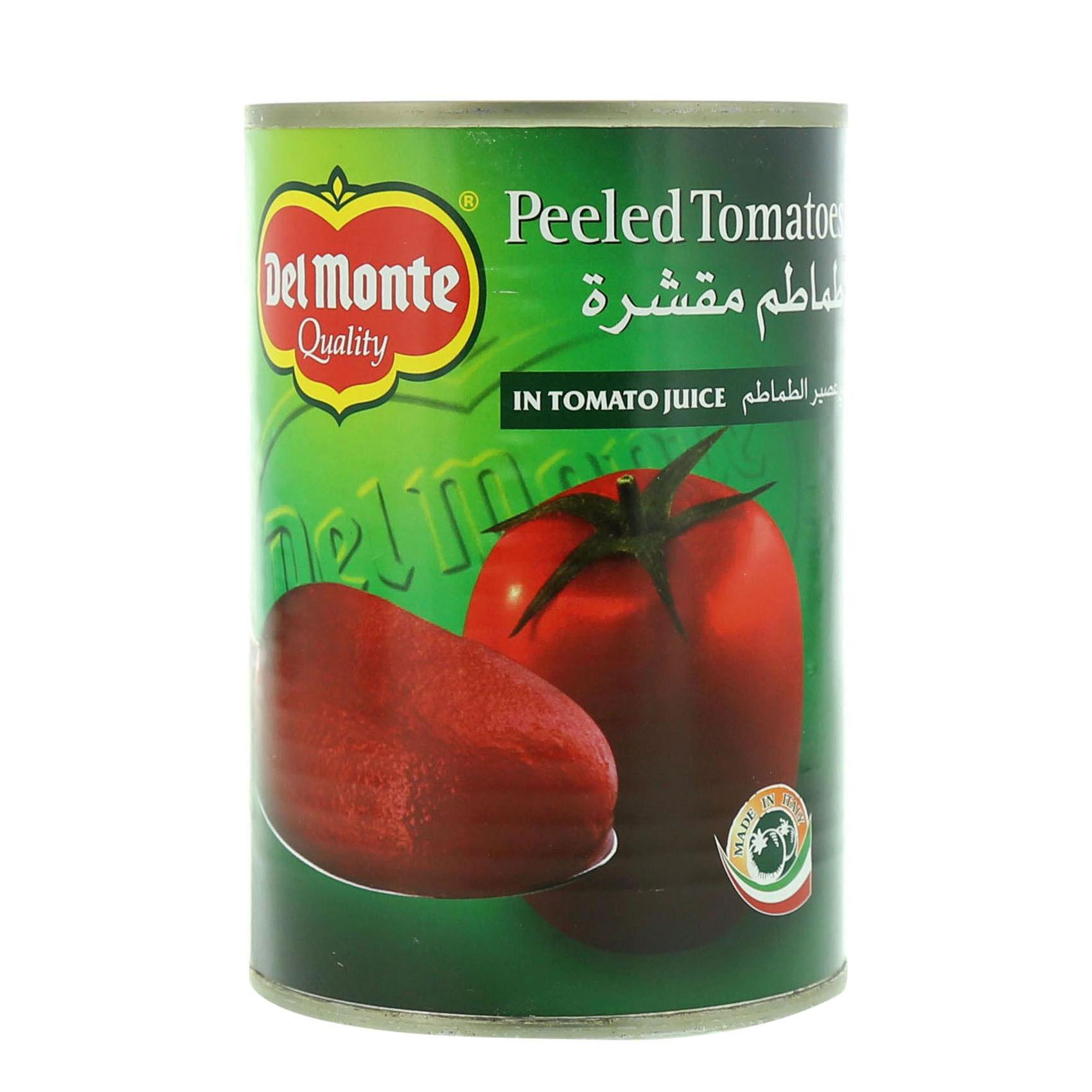 DEL MONTE TOMATO PEELED 397GR