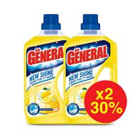 Der General Floor Cleaner Lemon 750ML X2 -30%