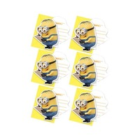 Despicable Me Lovely Minions Invitation Cards And Envelopes 6 Pieces