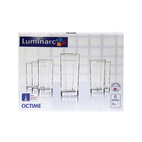 Luminarc Otcime Glass Set Of 6 Pieces