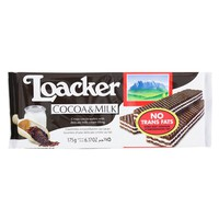 Loacker Cocoa & Milk Cocoa Wafers 175g