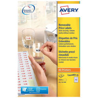 Avery Price Label L3410REV-25
