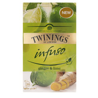 Twinings Infuso Ginger & Lime 20 Tea Bags