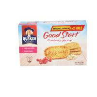 Quaker Goodstart Biscuits Cranberry 45g x6