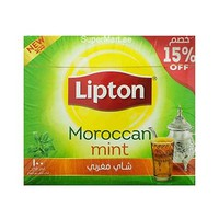 Lipton Green Tea bags Moroccan Mint IB2 100 Tbags