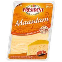 President Maasdam Slices 150g