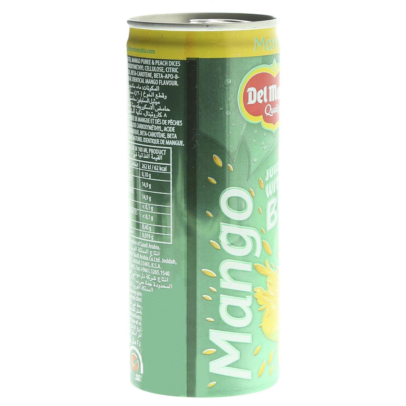DELMONTE MANGO WITH BITS 240ML