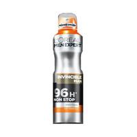 L'Oreal Paris Men Expert Deodorant Spray Invicible Man 96H Non Stop 150ML 15% Off