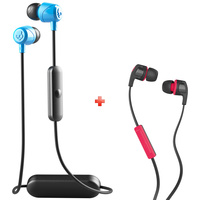 SkullCandy Bluetooth Earphone JIB+ BUDS Wired Earphone