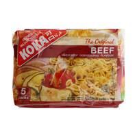Koka Oriental Instant Noodles Beef Flavour 85gx5