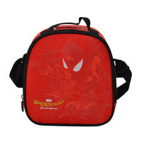 Marvel Spiderman Shadow Web Red  Lunch Bag